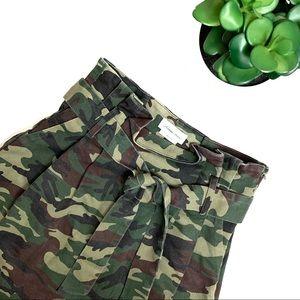 Lovers + Friends Celina Mini Skirt in Camo